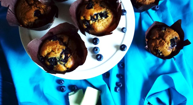 Blueberry Muffin 2- Oh So Sweet Baker