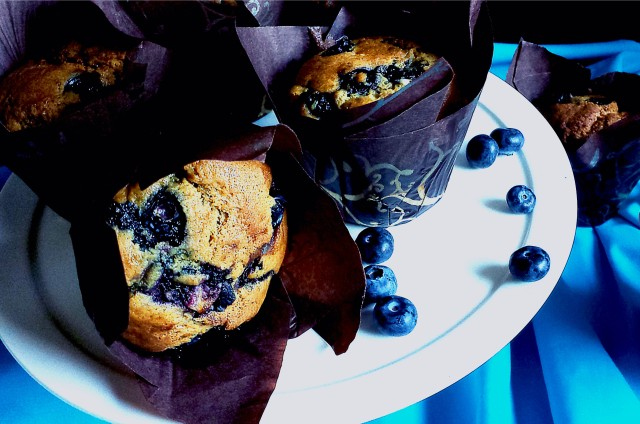 Blueberry Muffin 3- Oh So Sweet Baker