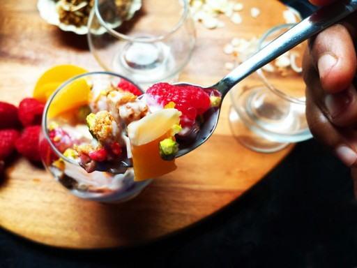 Peach Melba Parfait Spoon - Oh So Sweet Baker